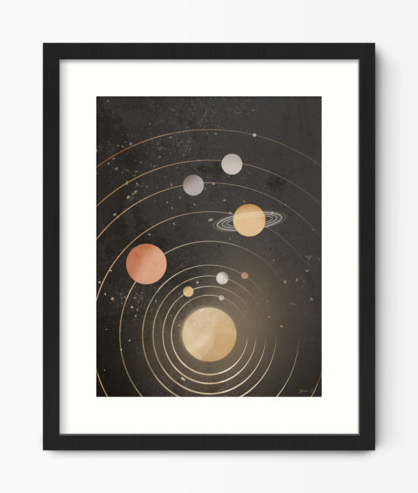 Space Print by Green Lili