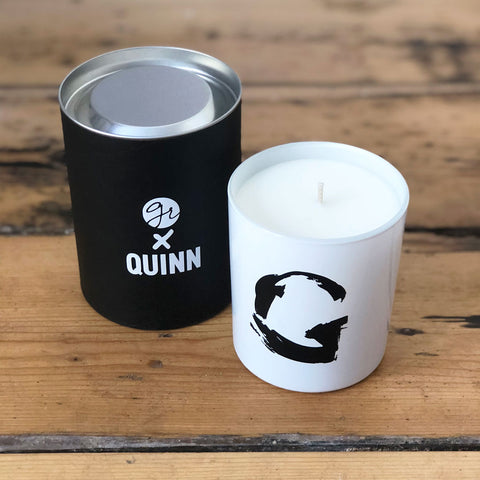 Green Lili X Quinn - Abstract Letter G Scented Candle