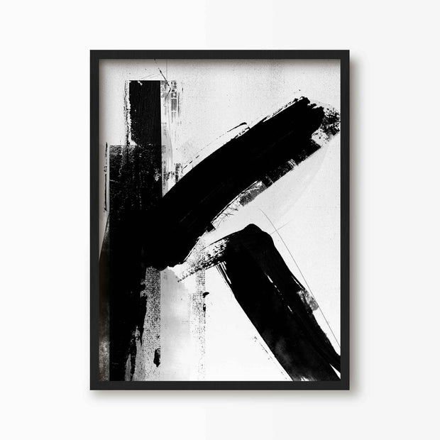 Abstract Letter K Alphabet Print - Green Lili
