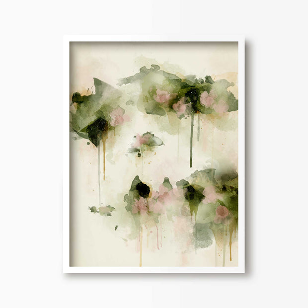 Summer Days - Floral Art Print