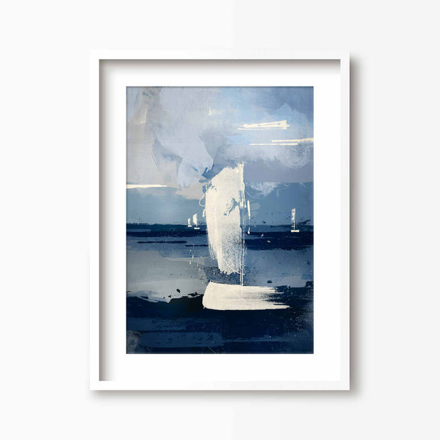 Sail Away - Coastal Art Print - Green Lili