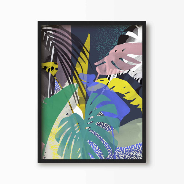 Tropical Jungle Fever Print - Green Lili