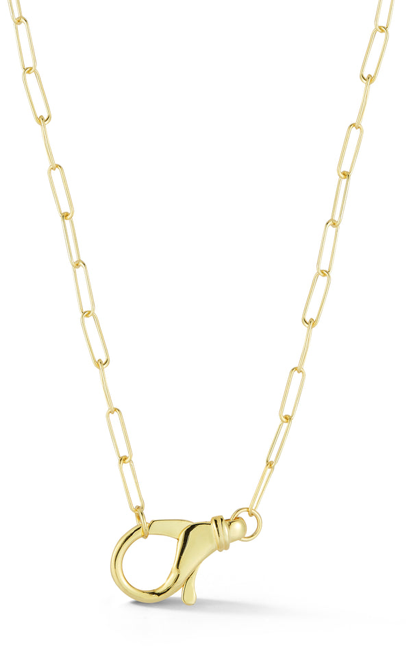 Large Clasp Link Necklace - Sphera Milano