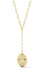 Bumble Bee Link Lariat Necklace - Sphera Milano