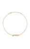 Mini Lowercase Nameplate Bracelet - Sphera Milano