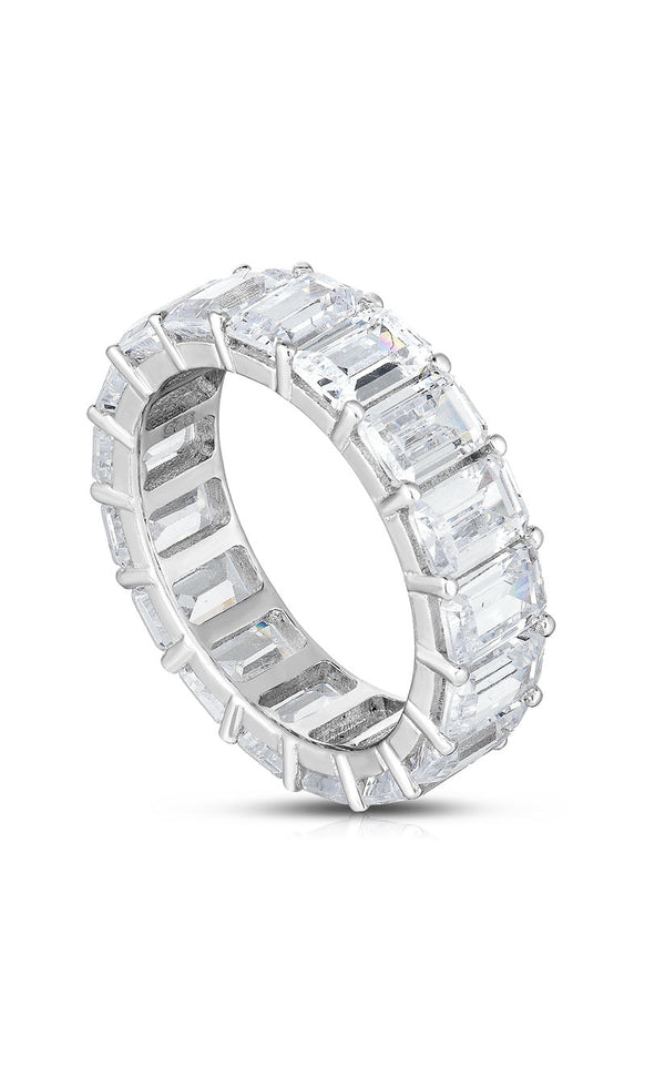 Baguette Eternity Band - Sphera Milano