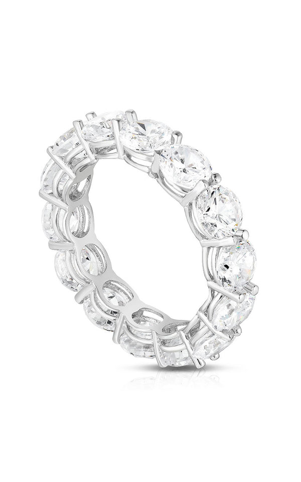 Round Cut Eternity Band Ring - Sphera Milano