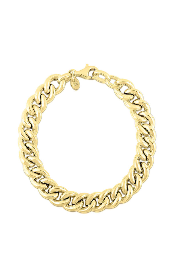 Bold Curb Link Chain Bracelet - Sphera Milano