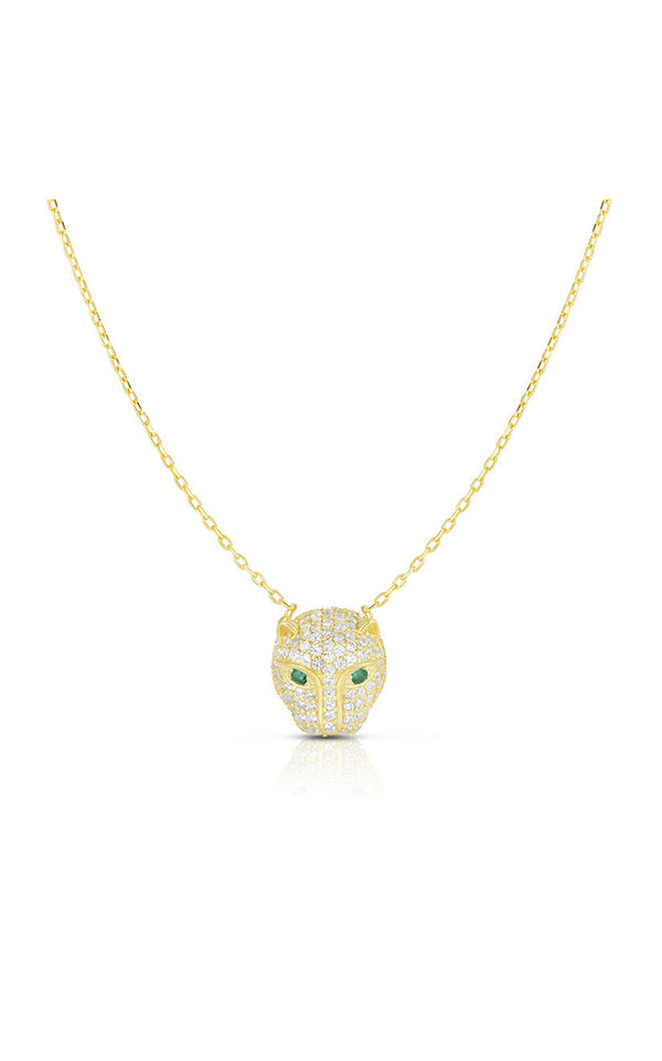 Pavé Panther Necklace - Sphera Milano
