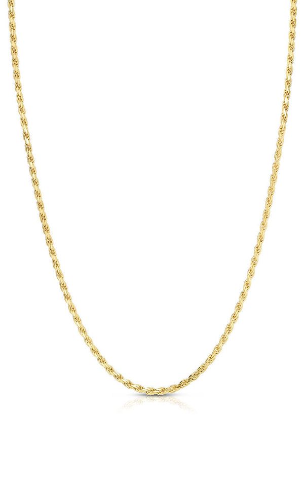 Rope Chain Necklace - Sphera Milano