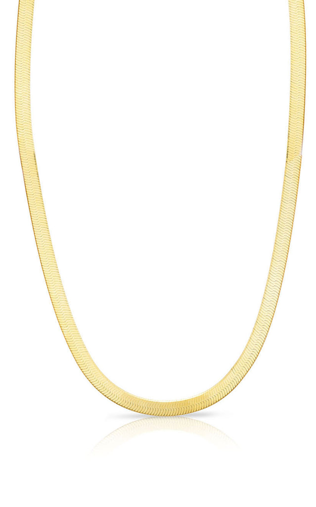 Herringbone Chain Necklace - Sphera Milano