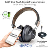 Avantree Wireless Bluetooth Over Ear Headphones with Mic for Music/Gaming/TV/PC