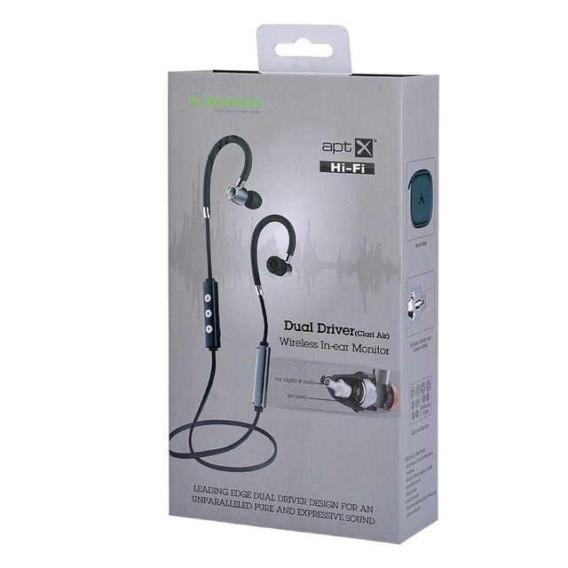 Avantree AS20 Hi-Fi Bluetooth Wireless Noise-Isolating Earphones
