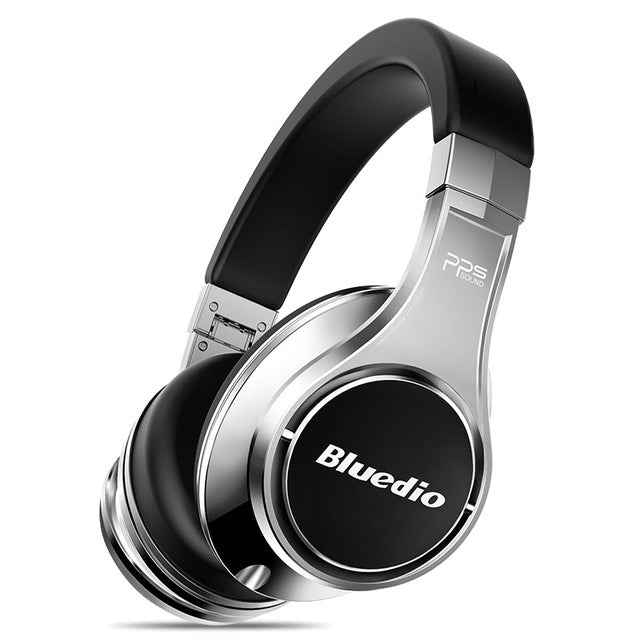 Bluedio U Aluminum Alloy 3D Sound Wireless Bluetooth Headphones