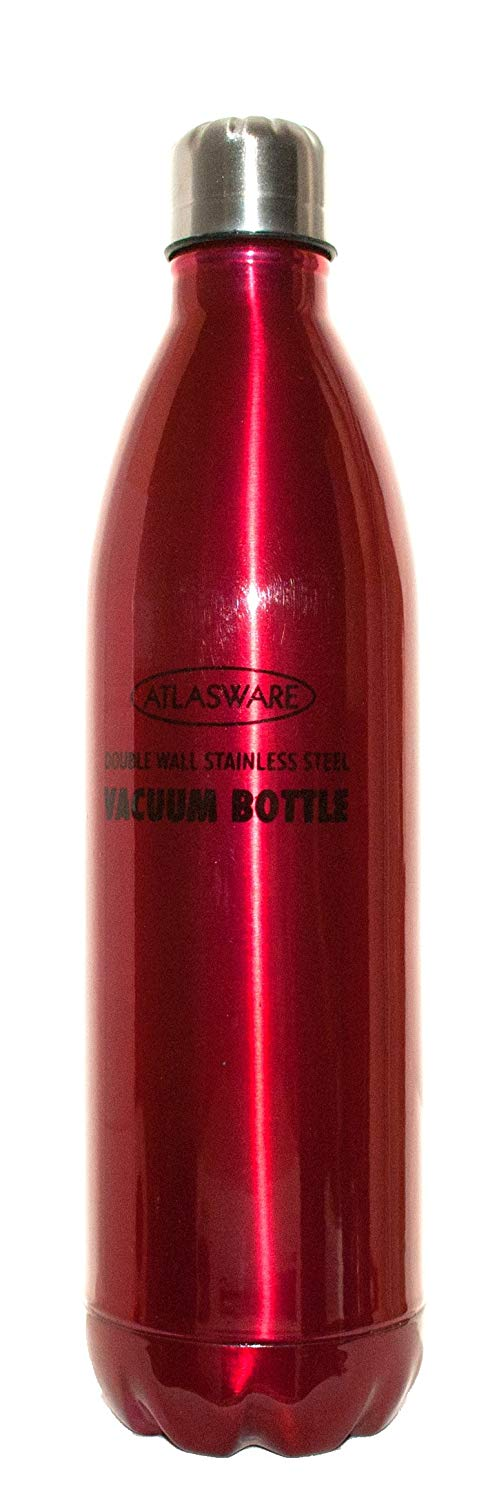 Atlasware Hot and Cold Vacuum Bottle Stainless Steel, 500 ml (Multicolor)…