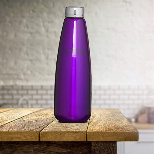 Atlasware Stainless Steel Fridge Bottle 1000 ML (Purple) IPL Offers