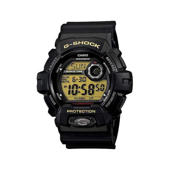 Casio G-Shock Men's Digital Dial Resin Band Watch - G-8900-1DR