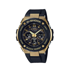 Casio G-Shock Men Black Resin Casual Watch - GST-S300G-1A9DR