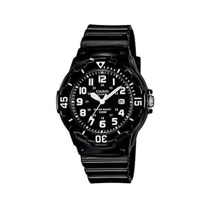 Casio Women`s Black Dial Plastic Band Watch [LRW-200H-1BVDF]
