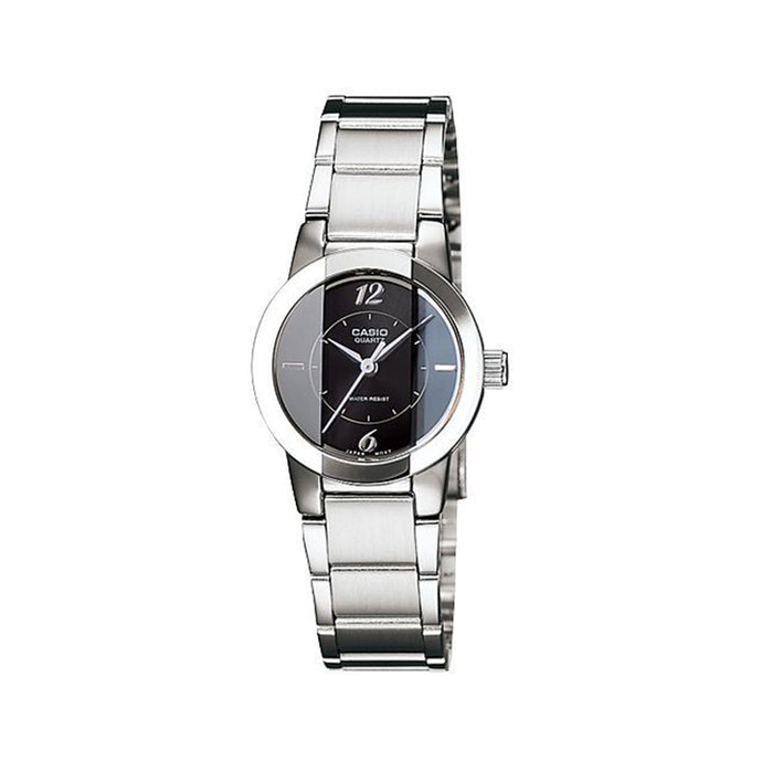 CASIO LADIES METAL FASHION WATCH LTP-1230D-1CDF
