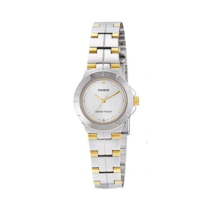 Casio Enticer Analog Silver Dial Women's Watch - LTP-1242SG-7CDF (A907)