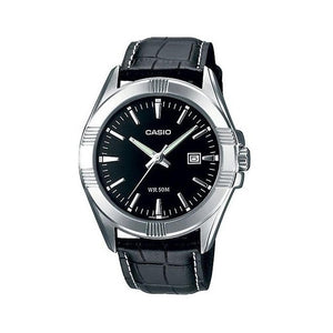 Casio Casual Watch For Men Analog Leather - MTP-1308L-1ADF