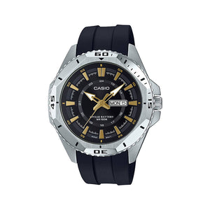 Casio Watch For Men - Leather - MTD-1085-1AVDF
