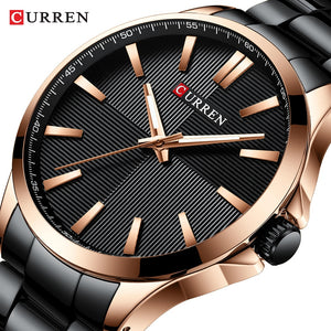 CURREN Watches Men Fashion Watch 2019 Luxury Stainless Steel Band Reloj Wristwatch Business Clock Waterproof  Relogio Masculino