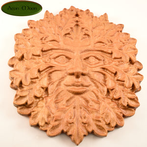 "8"" Beech Green Man (BGM1) - Aeon Moon"