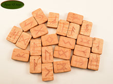 Maple Norse Runes with Copper (MCPN1) - Aeon Moon