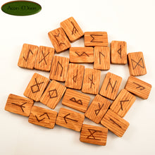 Oak Norse Runes with Red Hematite (ORHN1)