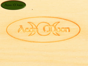 "7 1/2"" Poplar Green Man (PGM1) - Aeon Moon"