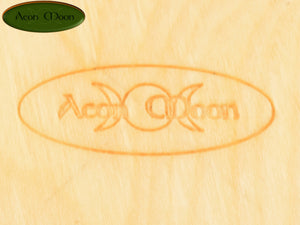"7 1/2"" Poplar Green Man (PGM2) - Aeon Moon"