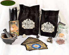 NEW*** Poison - All Natural Cotton Velvet and Silk Tarot, Oracle, or Crystal bag