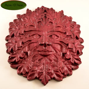 "7"" Purpleheart Green Man (PHGM1) - Aeon Moon"