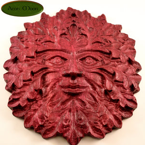 "8"" Purpleheart Green Man (PHGM2) - Aeon Moon"