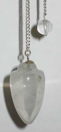 Clear Quartz pendulum - Aeon Moon
