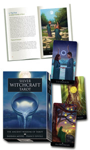 Silver Witchcraft Tarot Kit - Aeon Moon