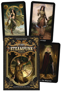 The Steampunk Tarot - Aeon Moon