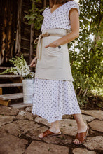 Canvas Bistro Apron w/ Ring Clip