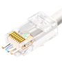 Easily terminate RJ45 ends with our CAT5/Cat6 Pass through tool. XT-499