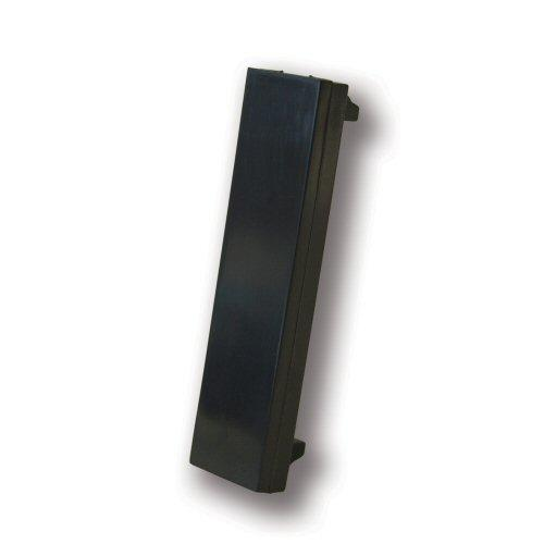 Faceplate Blank 12.5x50mm Euromodule - Black