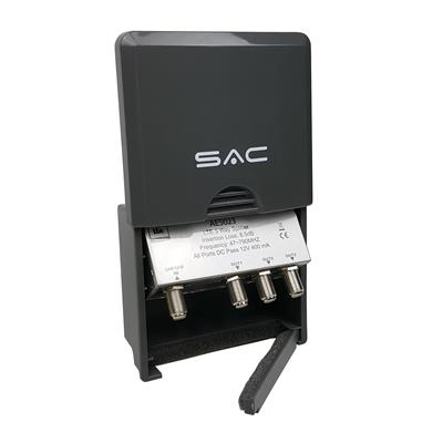 3 Way LTE Masthead/Outdoor Splitter DC Pass