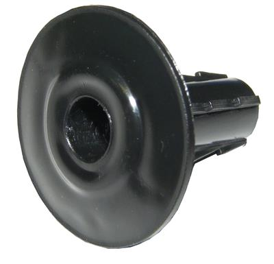 Single Cable Cable Entry Grommet (Black)