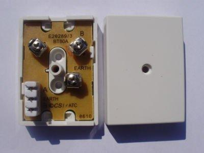BT80A, BT80B Single Line (1 pair) Telephone Junction Box. Similar to Redcare Junction Box