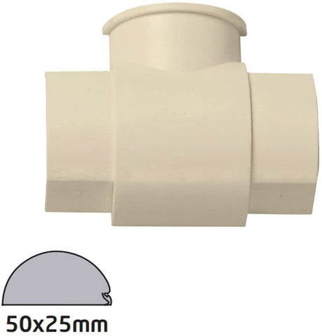 D-Line 50x25 Magnolia Box Adapter Tee Smooth Fit (Clearance)