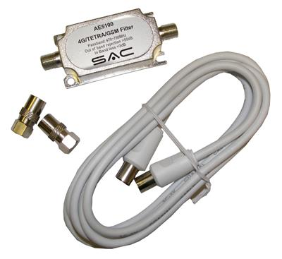 4G/TETRA/GSM - TV Aerial Filter KIT