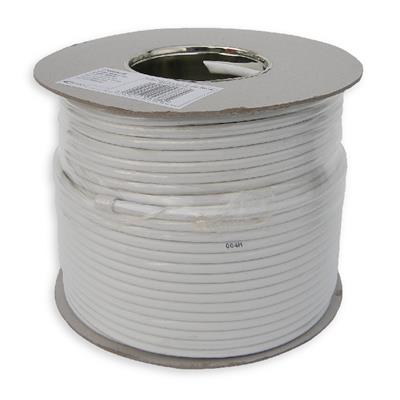 100m White Aerial/Satellite Cable RG6