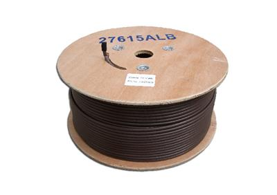 250m Brown Aerial/Satellite Cable RG6
