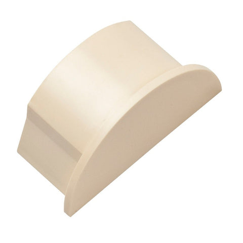 D-Line 50x25 Magnolia End Cap Smooth Fit (Clearance)